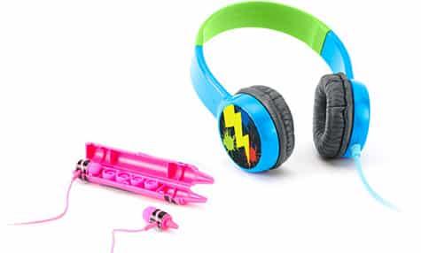 Griffin, Crayola team on kid-focused headphones, cases
