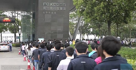 New video shows Foxconn iPad assembly line