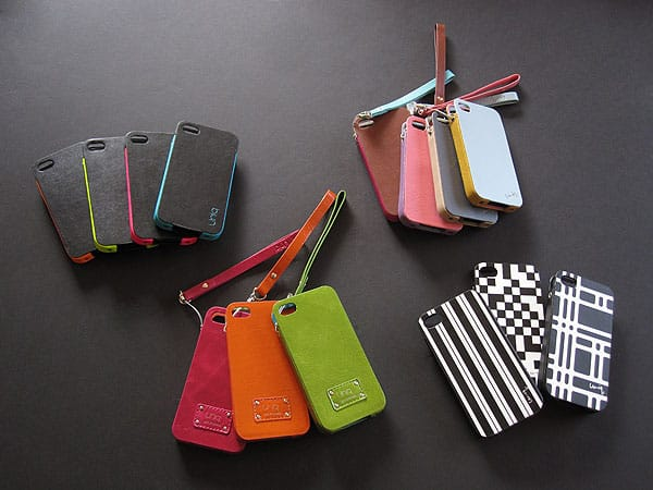 First Look: Uniq Creation Leather Cases for iPhone 4/4S