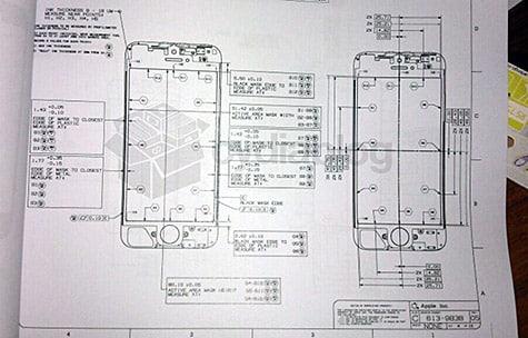 Next-gen iPhone design document appears online