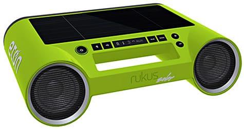 Etón ships Rukus Solar Bluetooth speaker