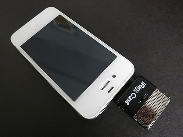 Review: IK Multimedia iRig Mic Cast for iPhone/iPod touch/iPad