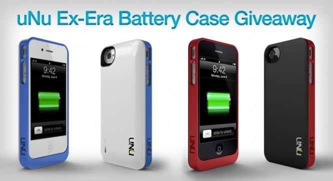 uNu Ex-Era Battery Case Giveaway – Winners Announced