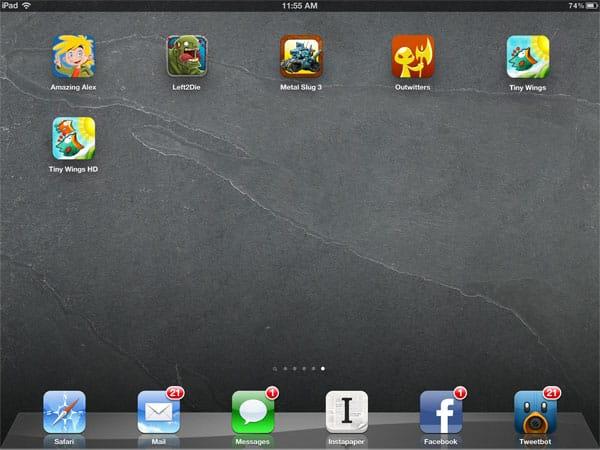 iOS Gems: Amazing Alex, Left2Die, Metal Slug 3, Outwitters + Tiny Wings/HD