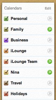 Reordering iCloud Calendars on iOS