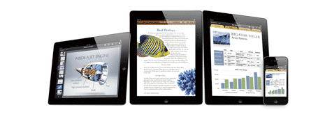 Apple updates iWork iOS apps for Mountain Lion