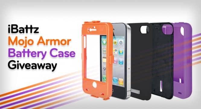 iBattz Mojo Armor Battery Case Giveaway – Winners Announced