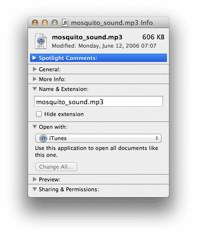 Preventing iTunes from automatically opening audio files