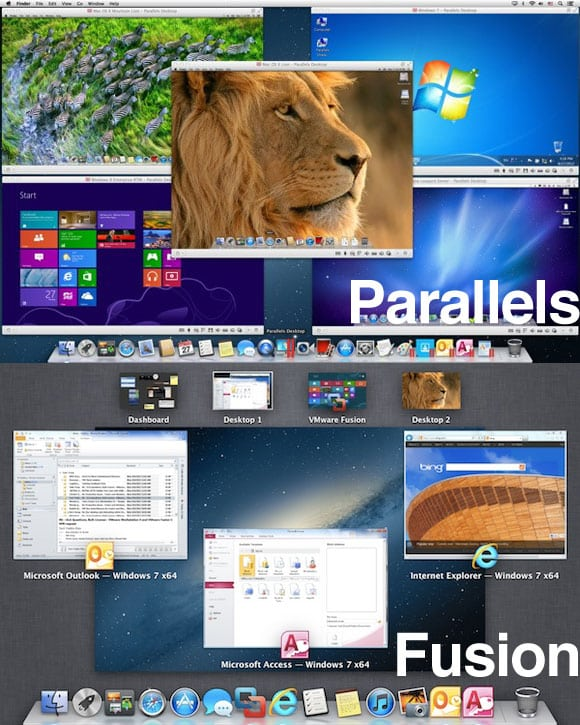 Parallels Desktop 8 + VMware Fusion 5