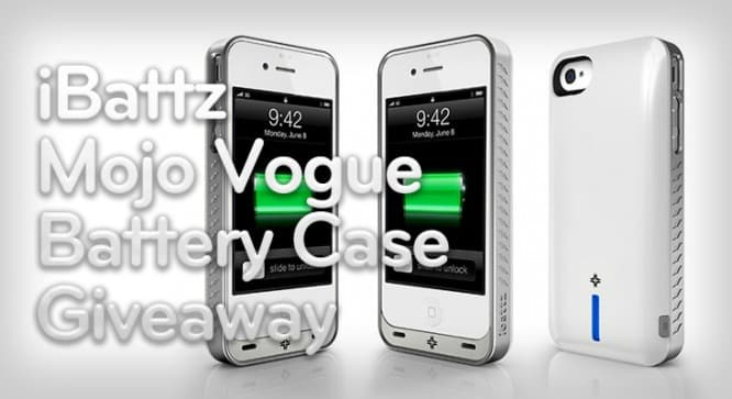 iBattz Mojo Vogue Battery Case Giveaway – Winners Announced