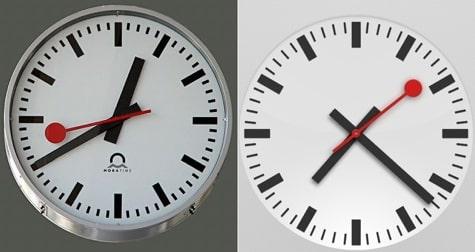 Apple accused of iOS 6 clock design theft