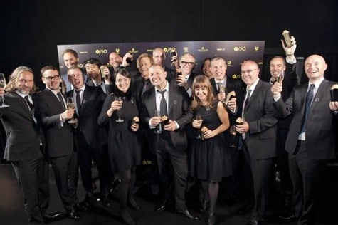 Apple design team accepts D&AD Awards in London
