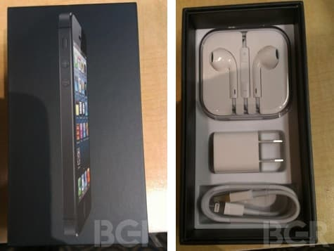 First iPhone 5 unboxing images posted