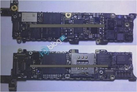 A6 processor, Qualcomm LTE on iPhone 5 logic board