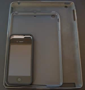 New iPad mini, iPhone cases compared to existing devices