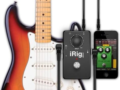 IK Multimedia releases iRig Stomp stompbox interface