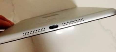 iPad mini mockup shows expected design