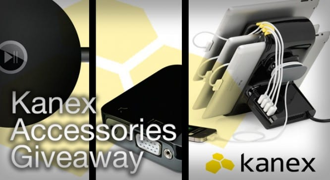 Kanex Accessories Giveaway – Winners Announced