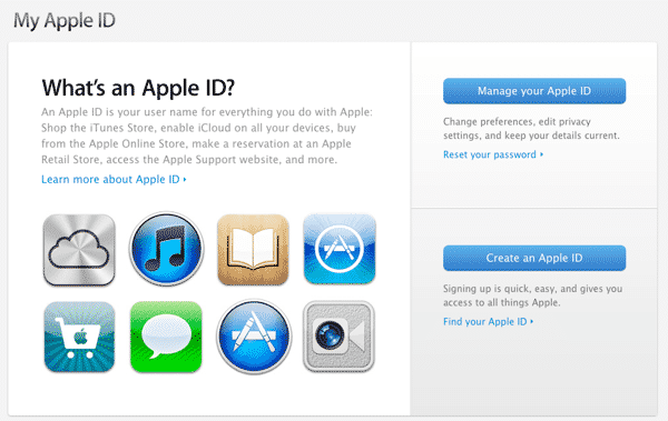 Moving an iTunes account to a new e-mail address