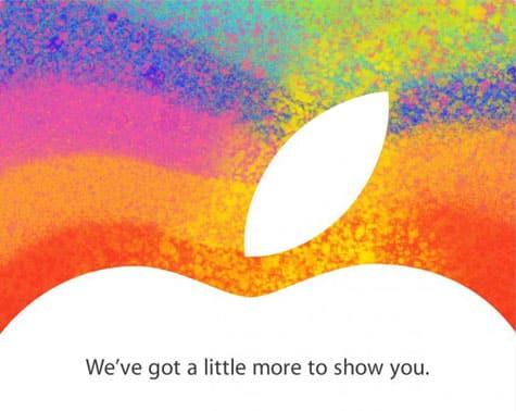 Apple announces Oct. 23 iPad mini event