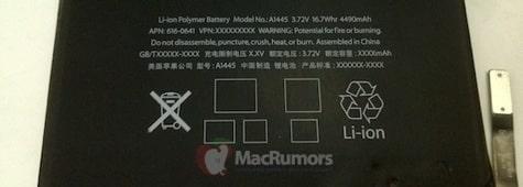 iPad mini: 4490mAh battery, priced 249-649 Euros?