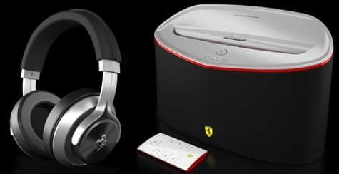 Ferrari by Logic 3 debuts T350 Headphones, Speaker Dock