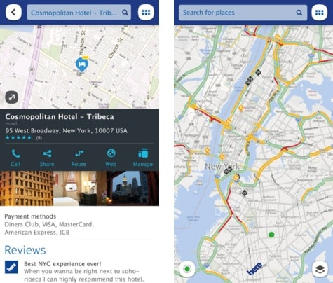 Nokia HERE Maps now available for iOS
