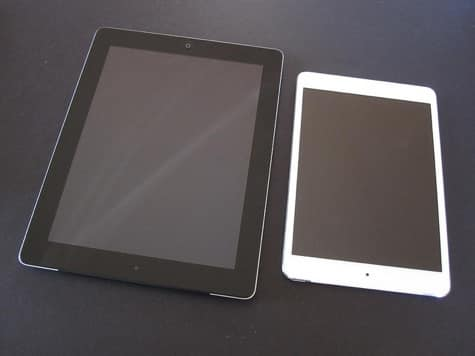 LTE iPad mini, 4th-Gen iPad unboxing and comparison galleries posted