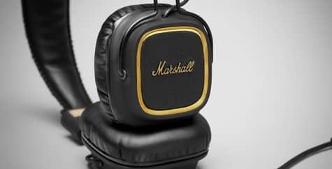 Marshall debuts Major 50 FX Headphones