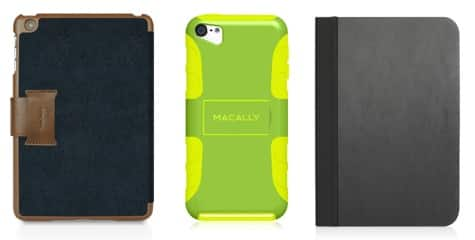 Macally debuts iPad mini, iPod touch cases