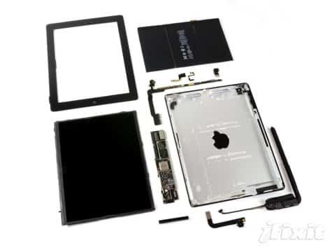 iFixit: fourth-gen iPad teardown surprise-free
