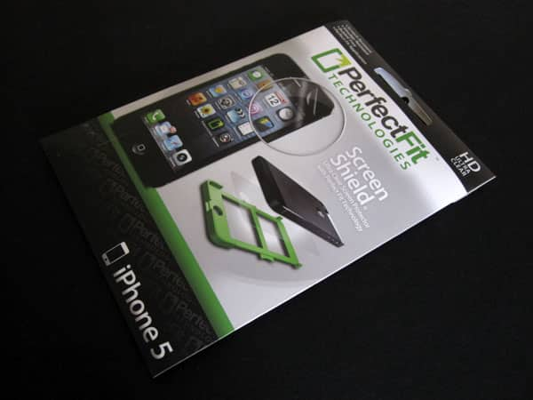 First Look: PerfectFit Technologies Ultra Clear Screen Shield with Perfect Fit Applicator for iPhone 5