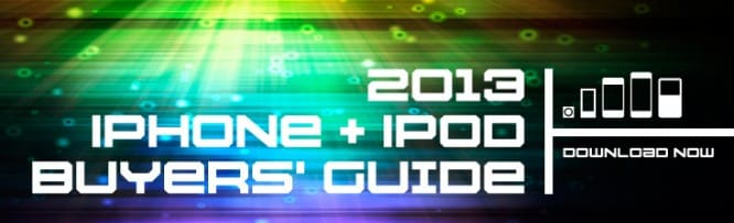 Download Now: iLounge's 2013 iPhone + iPod Buyers' Guide