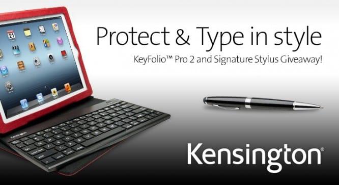 Kensington KeyFolio Pro 2 Giveaway – Winners Announced