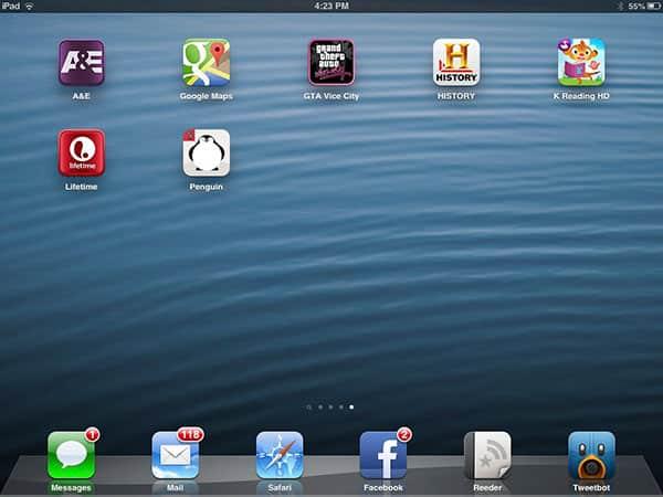 iOS Gems: A&E Apps, Google Maps, GTA: Vice City, Kindergarten Reading + Rounds: Parker Penguin