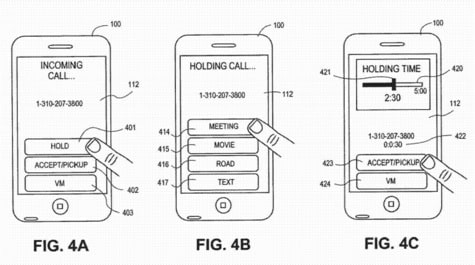Apple patent reveals advanced call waiting system