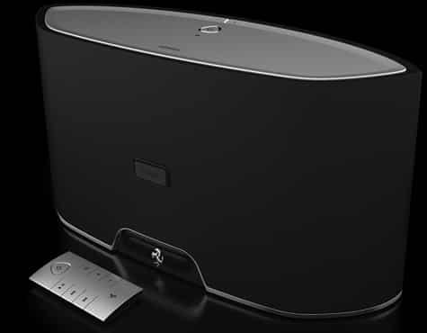 Logic3 shows Ferrari Cavallino GT1 Bluetooth speaker
