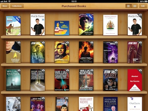 Hiding Purchased iBooks