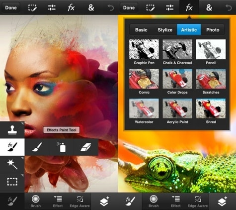 Adobe releases Photoshop Touch for iPhone, iPod touch