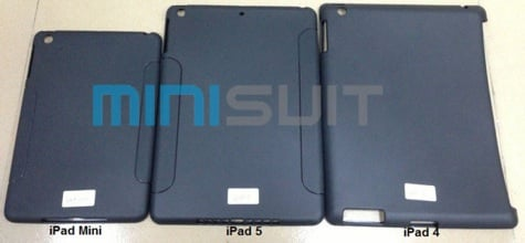 Developers already showing early iPad 5 cases