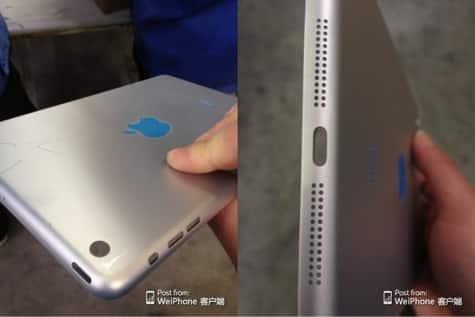 Next iPad mini shell photos leaked?