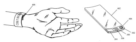 Apple patent application hints at iWatch shape