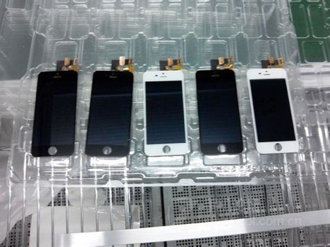 iPhone 5S front, inside photos leaked? (Update: No)