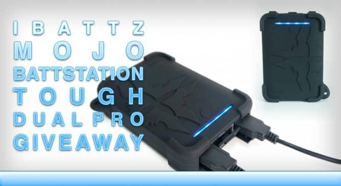 iBattz Mojo Battstation Dual Pro Battery Pack Giveaway – Winners Announced