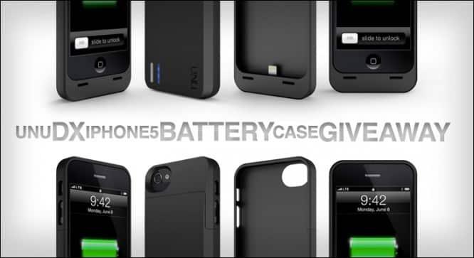 Unu DX Battery Case Giveaway – Winners Announced