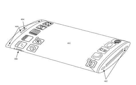 Apple seeks wraparound display, ceramic housing patents