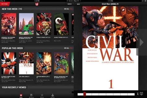 Marvel Unlimited comics subscription app hits iOS