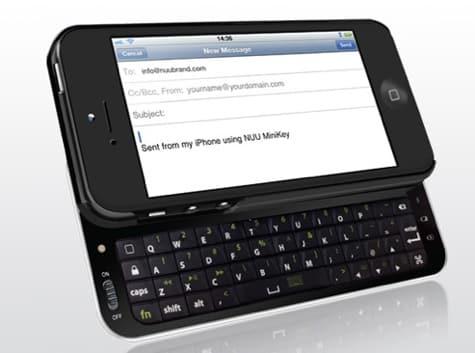 NUU intros MiniKey case for iPhone 5