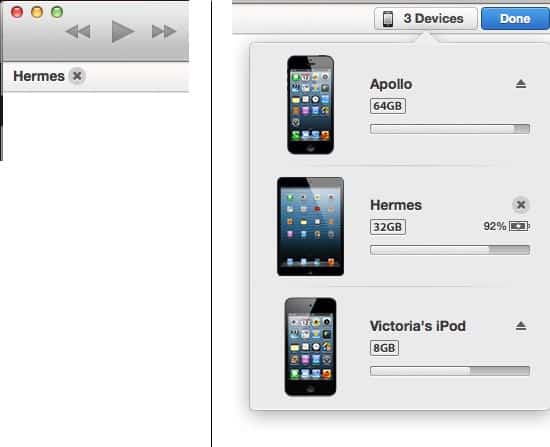 Cancelling a sync in iTunes 11