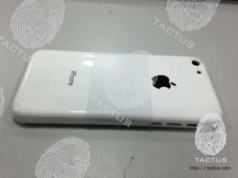Alleged budget iPhone rear shell leaked?